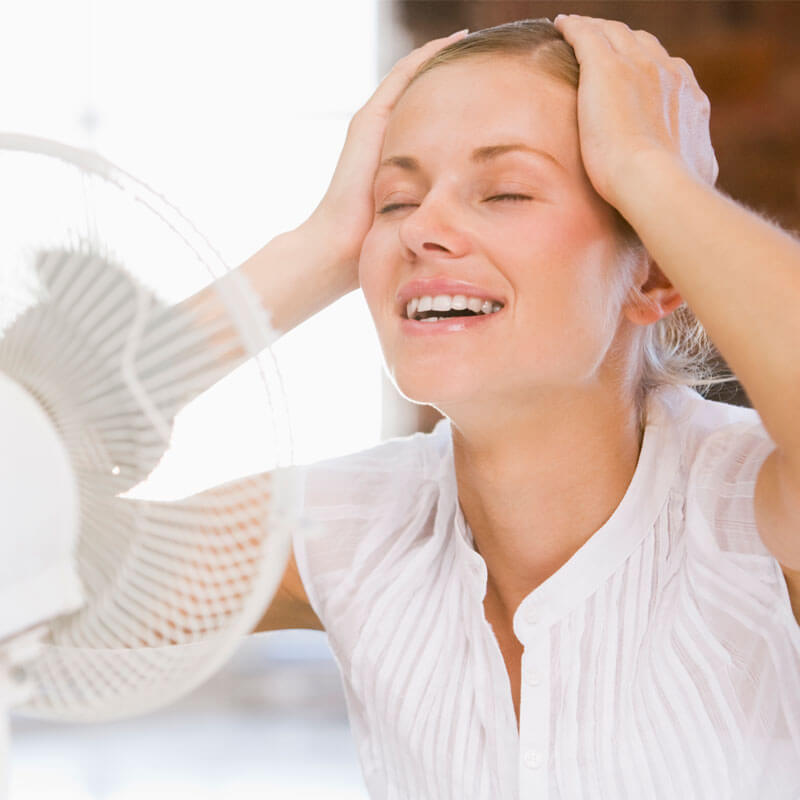 Natural Remedies for Hot Flashes and Insomnia - Cool down those hot flashes and get a good night's sleep!