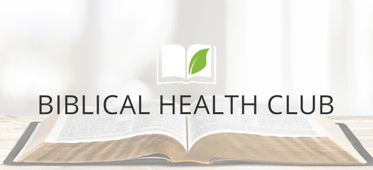 Biblical Health Club Program Banner